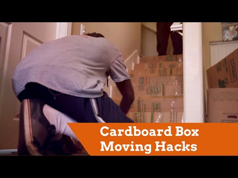 Moving Hacks by MovingHelp®: Cardboard Boxes
