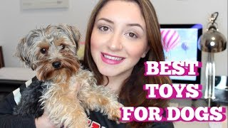BEST TOYS FOR SMALL DOGS 2018