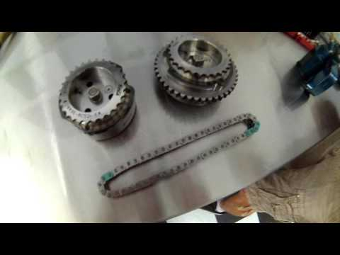 How To assemble Ford 5.0 Coyote Engine - How to Set engine Timing , Chains & Guides