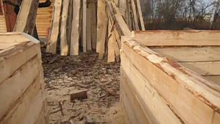 видео Технология безусадочного деревянного дома