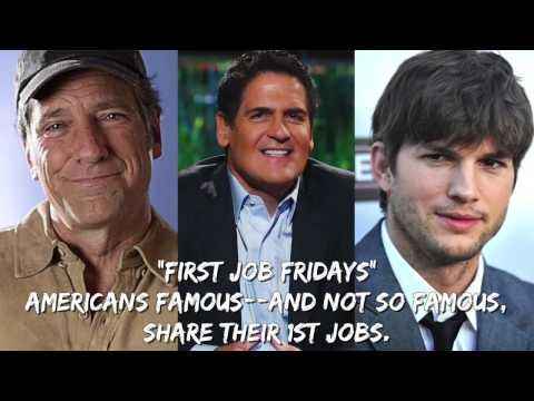 Celebrities on Their 1st Jobs: Kutcher, Cuban, Rowe... [Full]