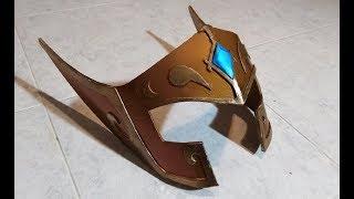 TUTORIAL DIY - Camus' Helmet (Saint Seiya)