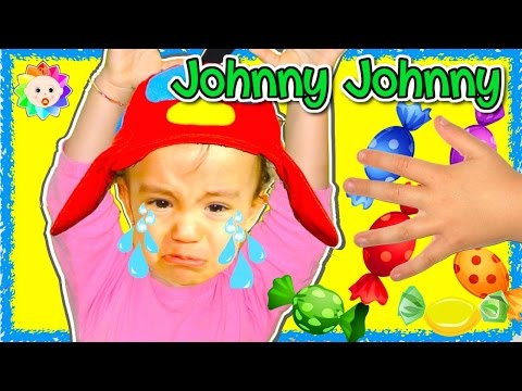 Thumbnail: BABY SONG Johny Johny Yes Papa Baby Crying Songs compilation ( ͡° ͜ʖ ͡°) Cute Bad Baby Candy taken