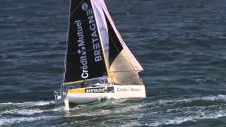 Transat Bretagne - Martinique : retour sur le parcours des skippers du team Bretagne - Crédit Mutuel