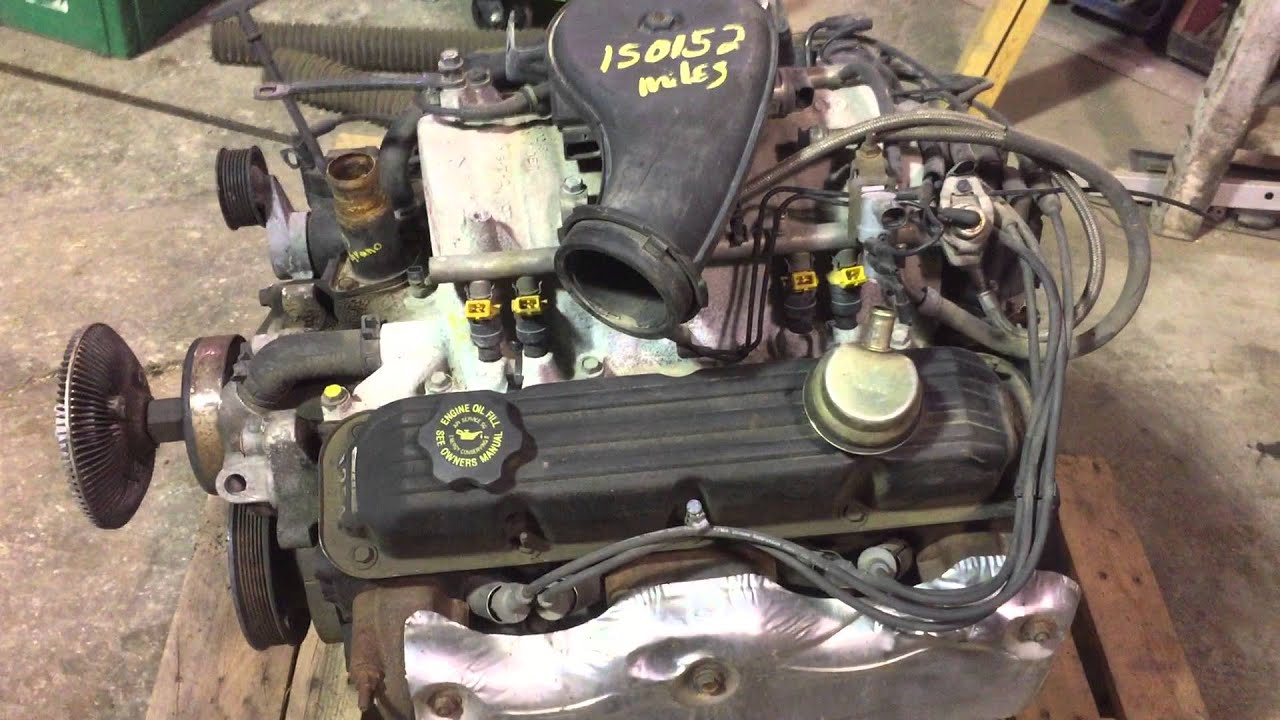 1997 Jeep Grand Cherokee 52L V8 Engine W EGR For Sale  YouTube