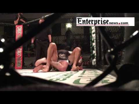 Cage Titians fighting championship XXXIII at Memorial Hall Plymouth.