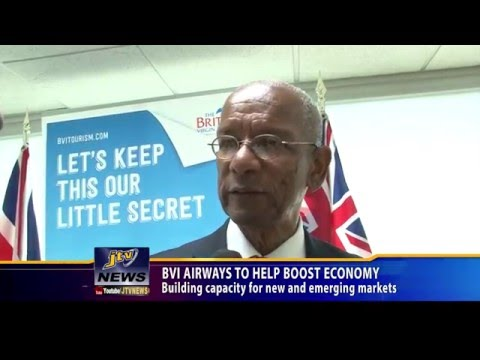 BVI Airways To help Boost Economy