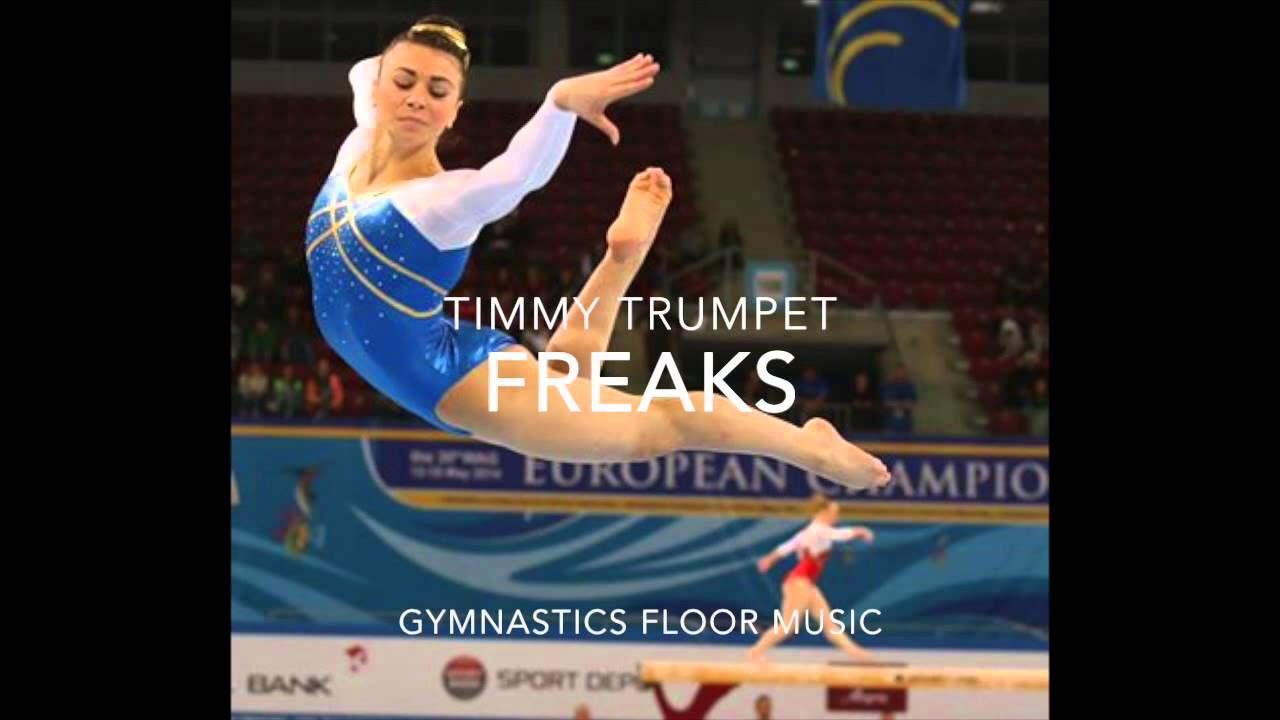 Freaks Timmy Trumpet Gymnastics Floor Music