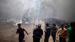 Scenes from Today's Violence at the Gaza Border | NYT News