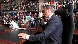 Funeral director uses toy collection to put clients at ease