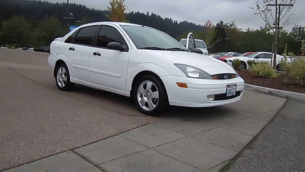 2003 ford focus cloud 9 white stock 19859 youtube