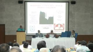 """National Seminar Higher Education in India """"Critical Issues & Challenges Part 1/3"""