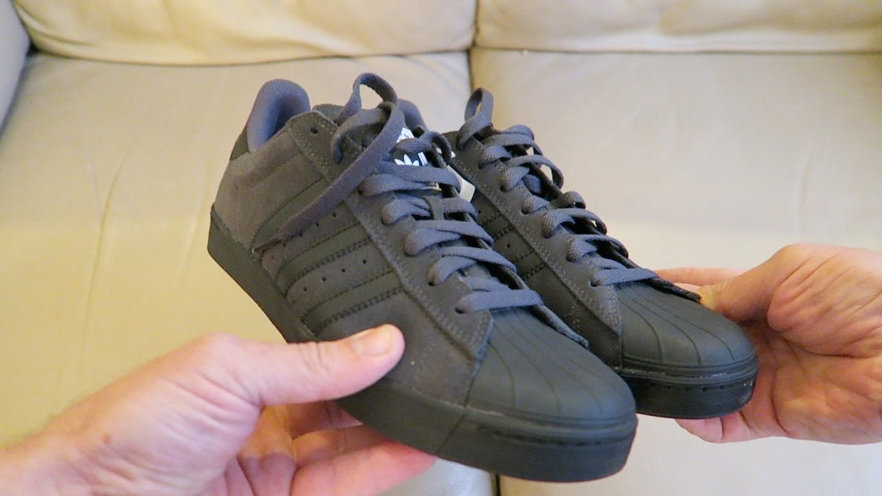 Cheap Adidas Superstar Vulc ADV Skate Shoe Wear Test Review Tactics