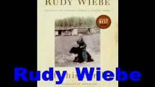 Rudy Wiebe-Of This Earth-author interview