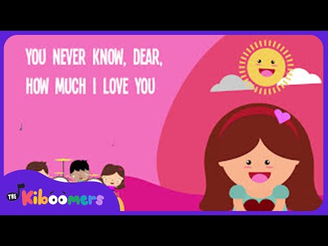 You Are My Sunshine Song for Kids  Best Nursery Rhymes for Children  The Kiboomers
