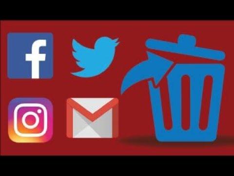 How to delete any social media account instagram facebook how to delete any social media account instagram facebook google twitter all ccuart Images