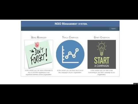 NGO Donation Management System