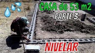 CONSTRUYE TU CASA 53m2 cap 3 TRAZO, NIVELACION DEL TERRENO Y MURO DE CONTENCION
