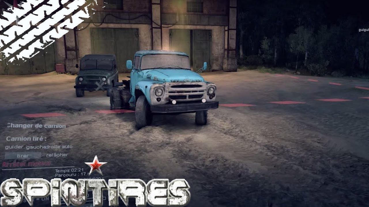 spintires camions tout-terrain simulator gratuit