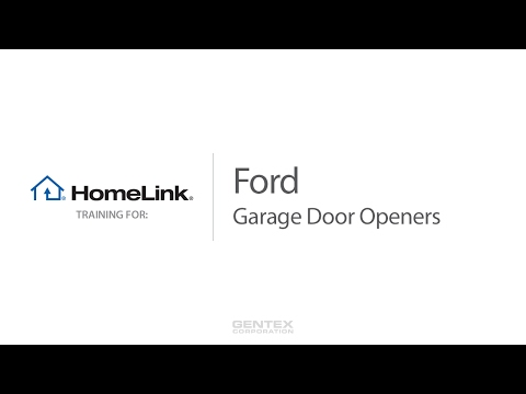 Ford - HomeLink Training