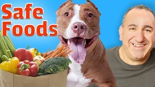 Safe and healthy foods for dogs 2018.