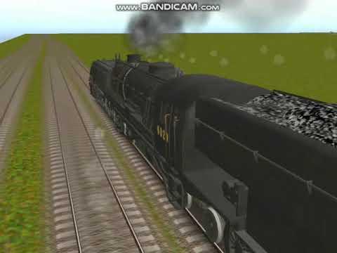 Download NSWGR AD60 vs D57 vs D58 class Racing Trainz