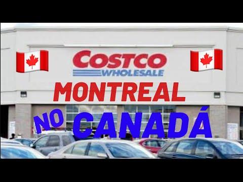 Costco Em Montreal- Canadá 🇨🇦