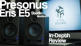 Presonus Eris E5 Studio Monitors: In-Depth Review