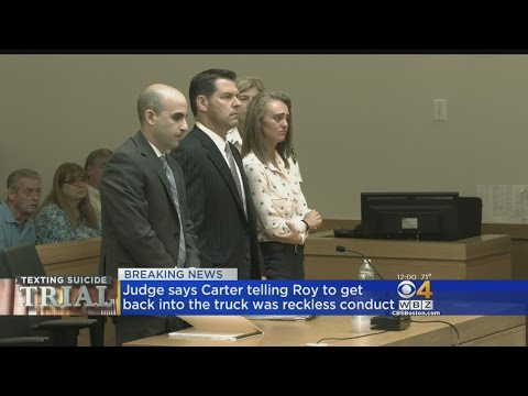 Michelle Carter Guilty In Texting Suicide Trial