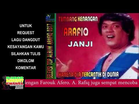 ARAFIQ - JANJI #Best Audio