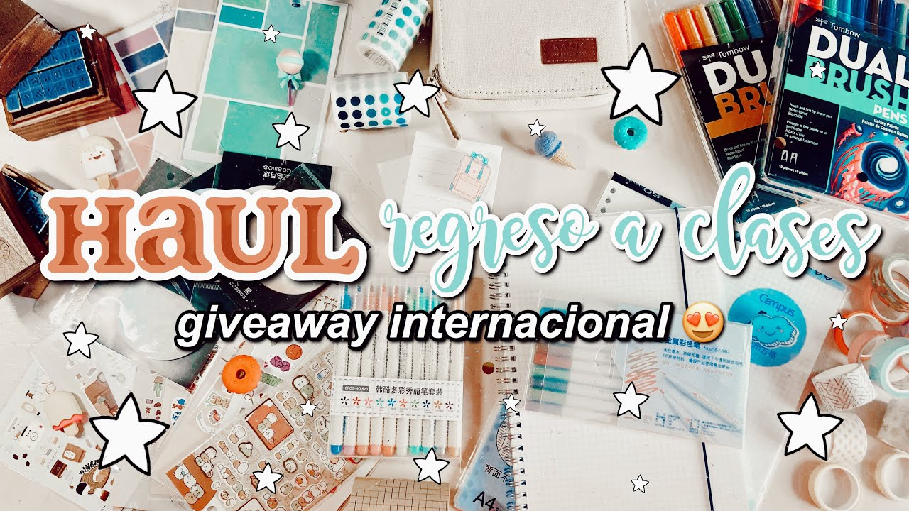 HAUL REGRESO A CLASES - stationery pal 😍