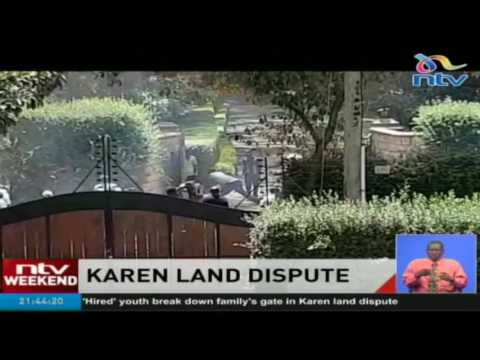 Karen land dispute: Goons invade home of lawyer, attempt to destroy gate