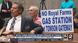 Plans for Towson Royal Farms move forward