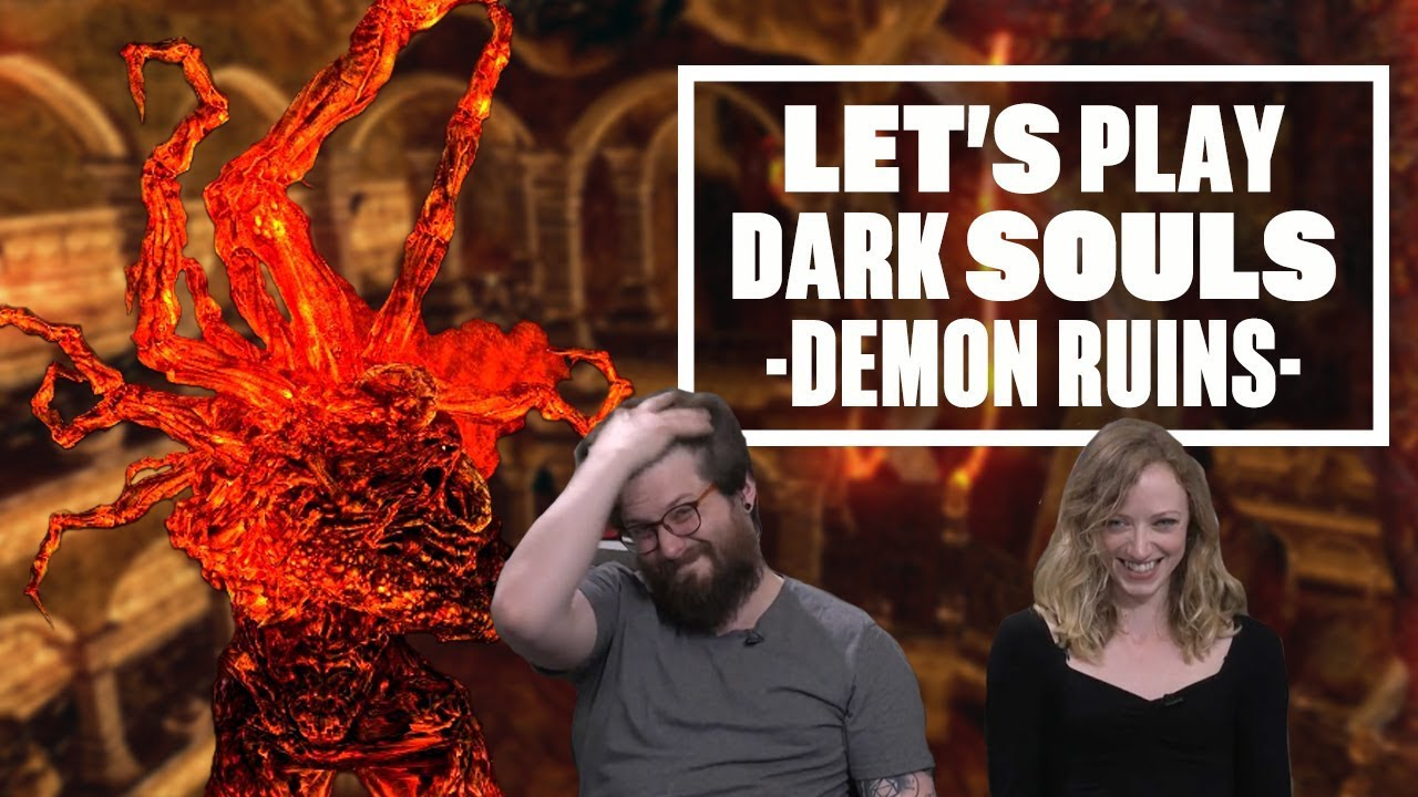Let's Play Dark Souls Episode 20 - PLEASE SIRE, DON'T HIT ME ANY MORE