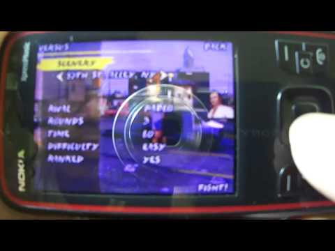 Nokia 5630 - THE ONE N-gage game Full version Gameplay