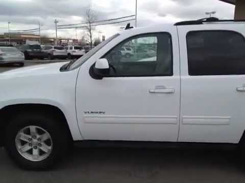Used White Gmc Yukon Slt Running Boards