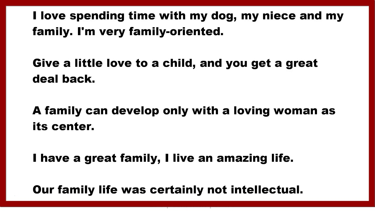 Family Quotes I Love Spending Time With My Dog My Niece And My
