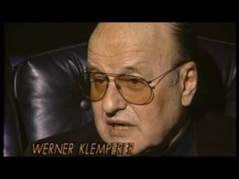Werner Klemperer 1992 TV Interview, Hogan's Heroes