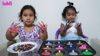 Learn Colors with Finger Family Song and Paint | Ishfi