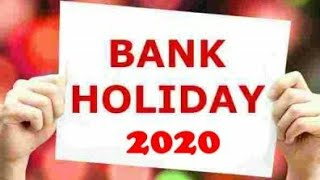 2020 Bank Holidays full detailed list   Financial plan   india   Bank News today