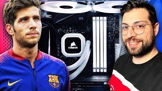 Montando un PC GAMING con Sergi Roberto (FC Barcelona)