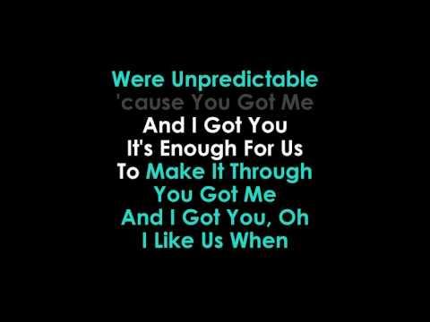 Unpredictable Karaoke Olly Murs & Louisa Johnson