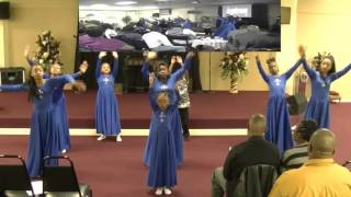 WANNA BE HAPPY (Kirk Franklin), Praise Dance by Gateway Youth Empowerment  2.19.2016