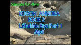 Kogon Annoba littafi na biyu part 1