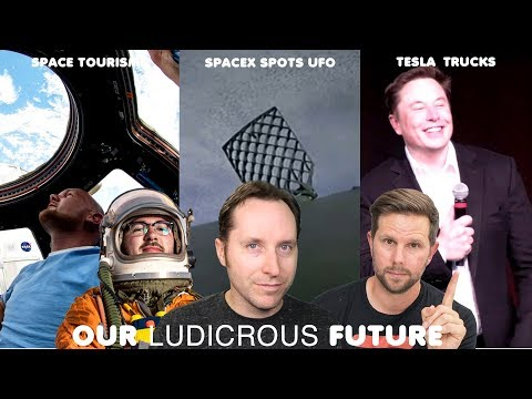 Ep 38 - SpaceX rocket spots a UFO, Space Tourism, and Tesla Truck Details thumbnail