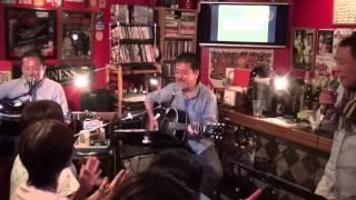 2013年9月14日、IKECLOライヴより。 江藤くんをフィーチャーしての「青...