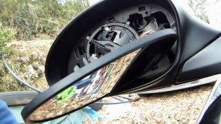 Comment démonter vitre, coque et moteur d'un rétroviseur de BMW E90