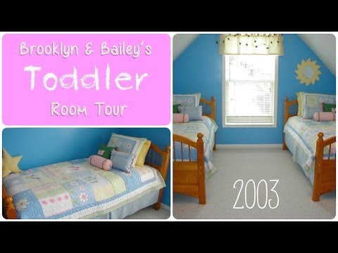 Brooklyn Amp Bailey S Toddler Girl Room Tour 2003 Youtube
