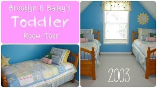 Brooklyn & Bailey's Toddler Girl Room Tour {2003} Thumbnail
