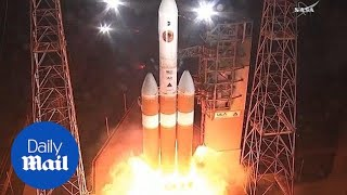 NASA launches Parker Solar Probe for historic mission to the sun - Daily Mail